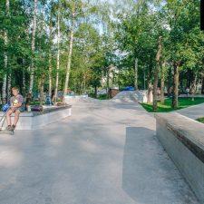 Фото: Бетонный скейт парк в Лианозовском парке - FK-ramps
