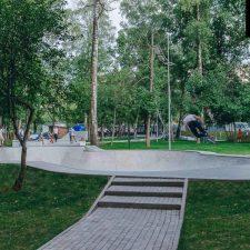Фото: скейт парк в Лианозовском парке в Москве - FK-ramps