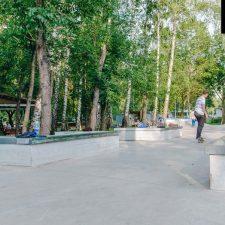 Бетонный скейт парк в Лианозовском парке - FK-ramps