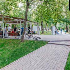 Cкейт парк в Лианозовском парке (Москва) от FK-ramps