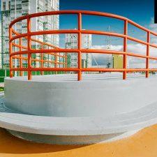 Бетонный скейт парк в Янино - FK-ramps