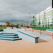Скейт парк в Янино от FK-ramps