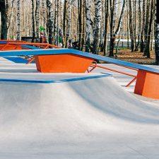 Скейт парк в Сходне от FK-ramps, Московская область