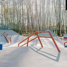 Скейт парк в Сходне от FK-ramps