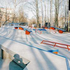 Бетонный скейт парк в Сходне - FK-ramps