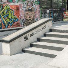 Бетонный скейт парк DC Plaza на ул. Введенская, д.9, фото № 8