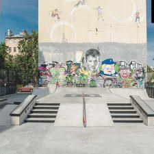 Скейт парк на Введенской улице д.9 от FK-ramps