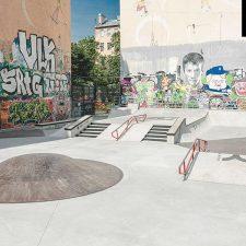 Cкейт парк на Введенской улице (Санкт-Петербург) - FK-ramps