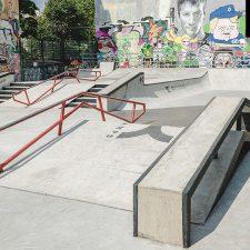 Скейт парк на Введенской улице (DC Plaza) Санкт-Петербург - FK-ramps
