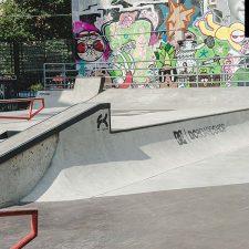 Скейт парк на Введенской улице (DC Plaza) Санкт-Петербург от FK-ramps