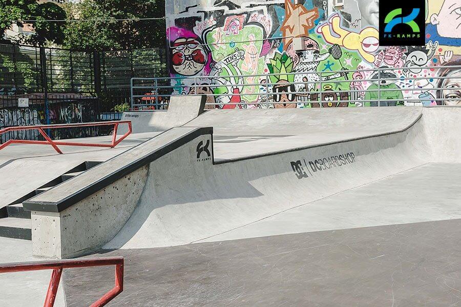 Скейт парк на Введенской улице, Санкт-Петербург - FK-ramps