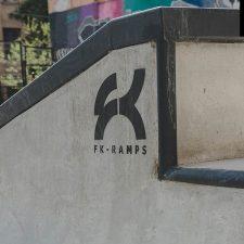 Скейт парк на Введенской улице в СПб - FK-ramps