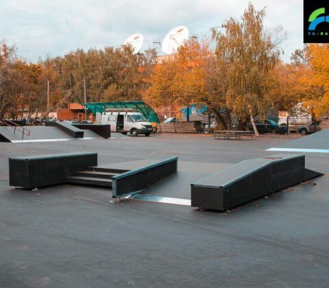 Скейт парк в Филевском парке, Москва, ПКиО «Фили» - FK-Ramps