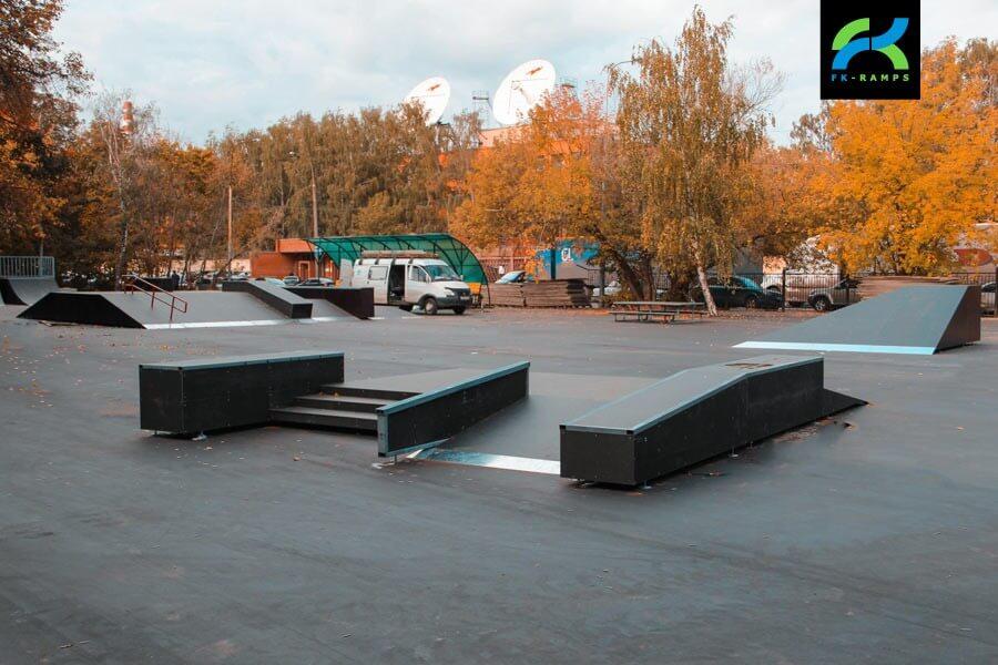 Скейт парк в Филевском парке