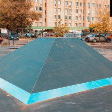 Скейт парк в Филевском парке, Москва - FK-Ramps