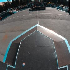 Скейт парк в Челябинске у памятника Курчатову - FK-ramps