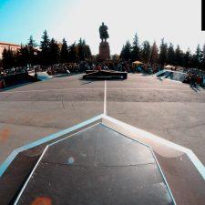 Деревянный скейт парк в Челябинске - FK-ramps