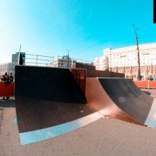 Фото: скейт парк в Челябинске - FK-ramps