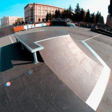 Фото: скейт парк в Челябинске от FK-ramps
