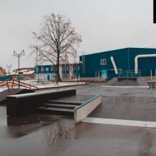 Скейт парк в Курганинске от FK-ramps - фото