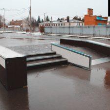 Скейт парк в Курганинске, Краснодарский край- FK-ramps