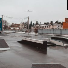 Скейт парк в Курганинске, Краснодарский край от FK-ramps