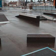 Скейт парк в Курганинске от FK-ramps