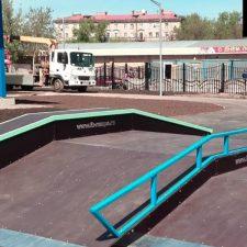 Металлический скейт-парк наКоптевскомбульваре, фото № 4