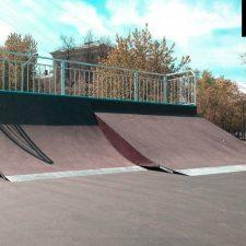 Металлический кейт парк на Коптевском бульваре от FK-ramps