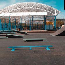 Металлический скейт-парк наКоптевскомбульваре, фото № 6