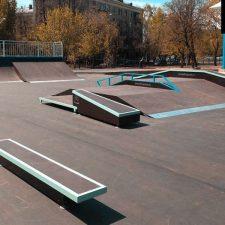 Металлический скейт-парк наКоптевскомбульваре, фото № 2