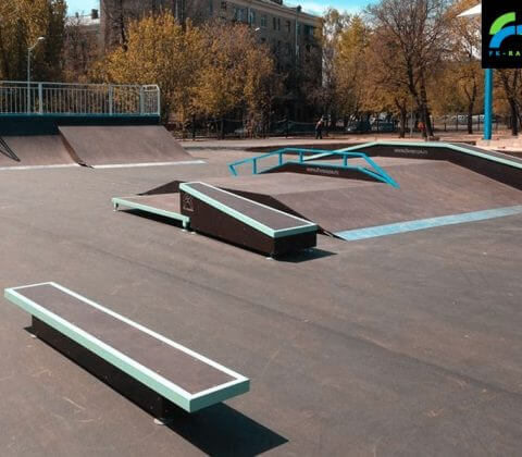 Фото: скейт парк на Коптевском бульваре - FK-ramps