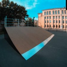 Фото: скейт парк в Великом Новгороде - FK-ramps