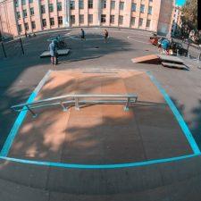 Скейт парк в Великом Новгороде