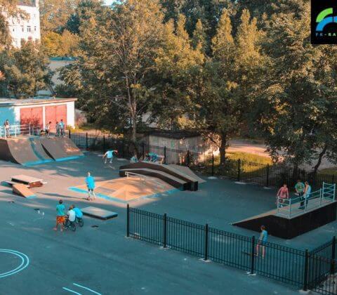 Скейт парк в Великом Новгороде - FK-ramps