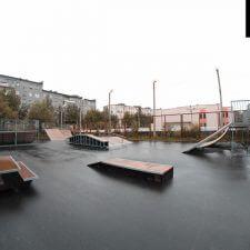 Скейт парк в Мурмашах, Мурманская область - FK-ramps