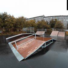 Скейт парк в Мурмашах, Мурманская область от FK-ramps