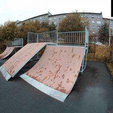Скейт парк в Мурмашах - FK-ramps