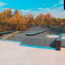 Скейт парк в Измайловском парке от FK-ramps