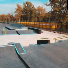 Деревянный скейт парк в Измайловском парке - FK-ramps