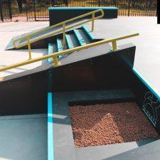 Деревянный скейт парк в Измайловском парке от FK-ramps