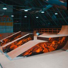 Скейт парк Жесть в Санкт-Петербурге от FK-ramps