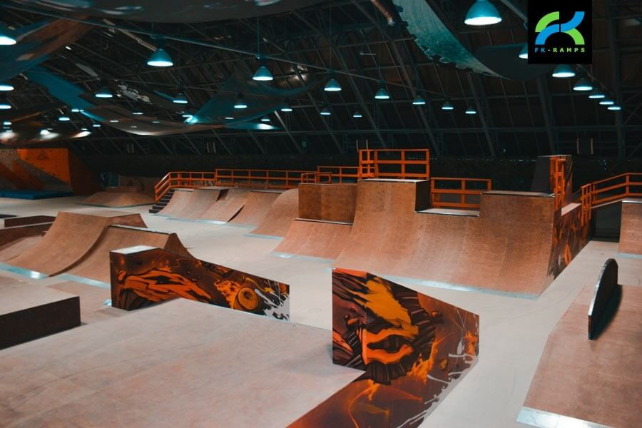 Скейт-парк «Жесть» в Санкт-Петербурге
