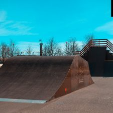 Скейт парк в парке 300-летия, СПб - FK-ramps