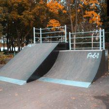 Скейт парк в Рыбинске, Ярославская область от FK-ramps