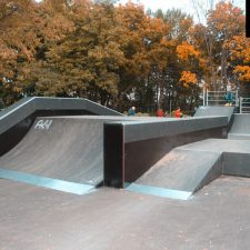 Деревянный скейт парк вРыбинске, фото № 4