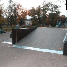 Деревянный скейт парк в Рыбинске от FK-ramps
