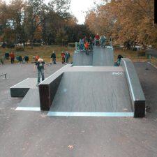 Деревянный скейт парк вРыбинске, фото № 8