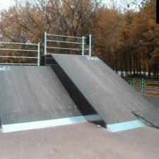 Деревянный скейт парк вРыбинске, фото № 9