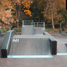 Деревянный скейт парк вРыбинске, фото № 10